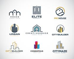 Propriétés Logo Design Set Collection