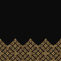 Luxury ornamental lace pattern