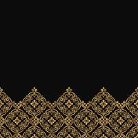Patrón de encaje ornamental de lujo.
