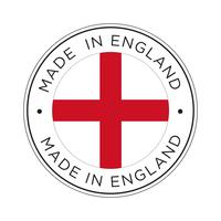 made in England flag icon.