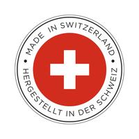 Made in Switzerland Flaggensymbol.