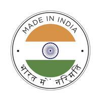 realizzato in icona bandiera india.