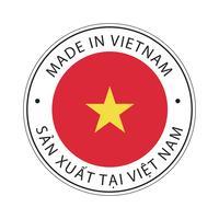 realizzato in icona bandiera vietnam.