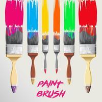 paint brush Illustration vector