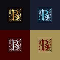 Letter B Decorative Logo