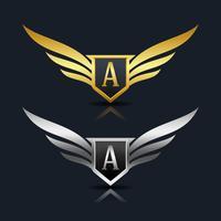 Letter A embleem Logo
