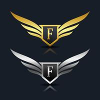 Brev F emblem Logo