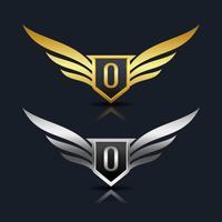 Letter O embleem Logo