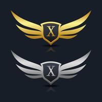 Letter X embleem Logo