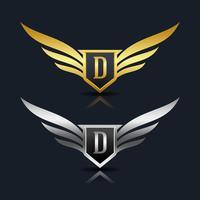 Brev D emblem Logo