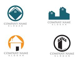 Simple House Home Real Estate Logo Ikoner