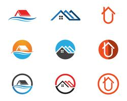 Home logo and symbols template icons app