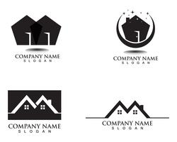 property house and home logos template