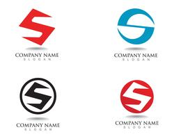 S logo and symbols template vector icons
