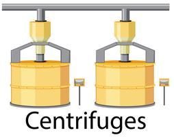 Centrifuges voor de suikerindustrie