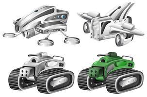 Set van robot auto