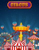 En rolig cirkusmall