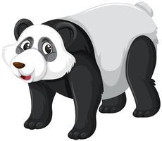 Eine süße Panda-Figur