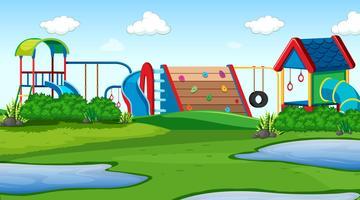parque al aire libre parque escena