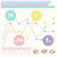 Un infochart con estadísticas de personas.