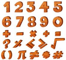 Font design for numbers