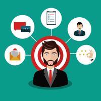 Male presenting customer relationship management
