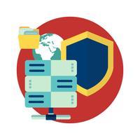 Sécurité en ligne, protection des données, logiciel antivirus, cloud computing