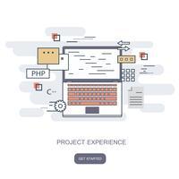 Project ervaring concept