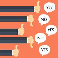 Feedback van ondernemers, sympathieën en antipathieën