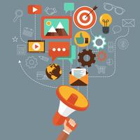 Conceito de marketing digital
