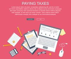 Skattebetalningskoncept