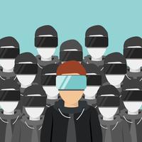 Erzeugung der virtuellen Realität