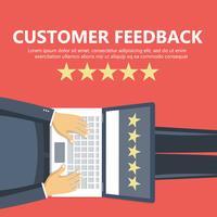 Clasificación en la ilustración de servicio al cliente