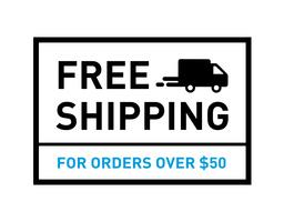 Free shipping. On all orders. Badge with truck icon. vector