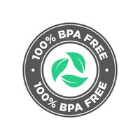 100 procent BPA-vrij pictogram.