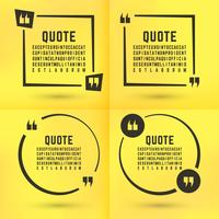 Quotes template set