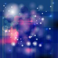 Abstrait bleu