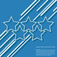 Étoiles lignes de fond