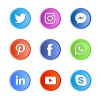 Sociala medierikoner