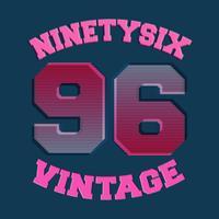 Noventa y seis sellos vintage