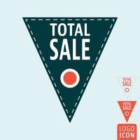 Icona di vendita totale