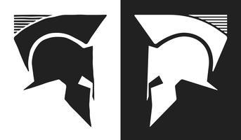 Logo del casco Spartan