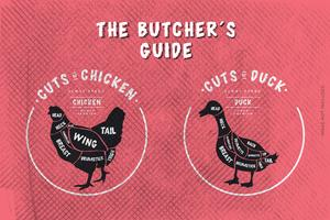 La macelleria's Guide, Cut of Chicken and Duck