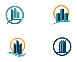 logo finance et symboles vector illustration concept