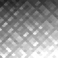 Patrón de tejas de techo gris blanco, plantillas de diseño creativo vector