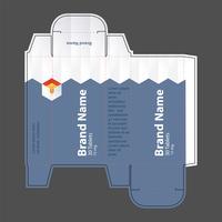 Illustration vectorielle de drogue boîte concept 04