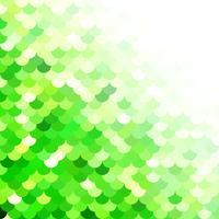 Green Roof tiles pattern, Creative Design Templates vector