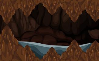Eine Flutsteinhöhle
