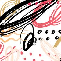 Abstract pattern brush stroke background. Vector illustration.