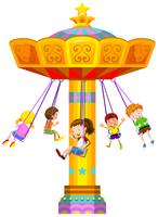 Enfants se balançant en cercle